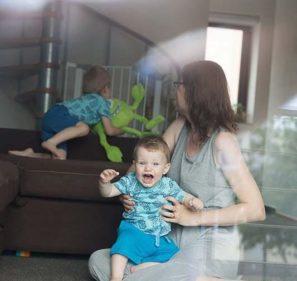 děti zlobí mámu
